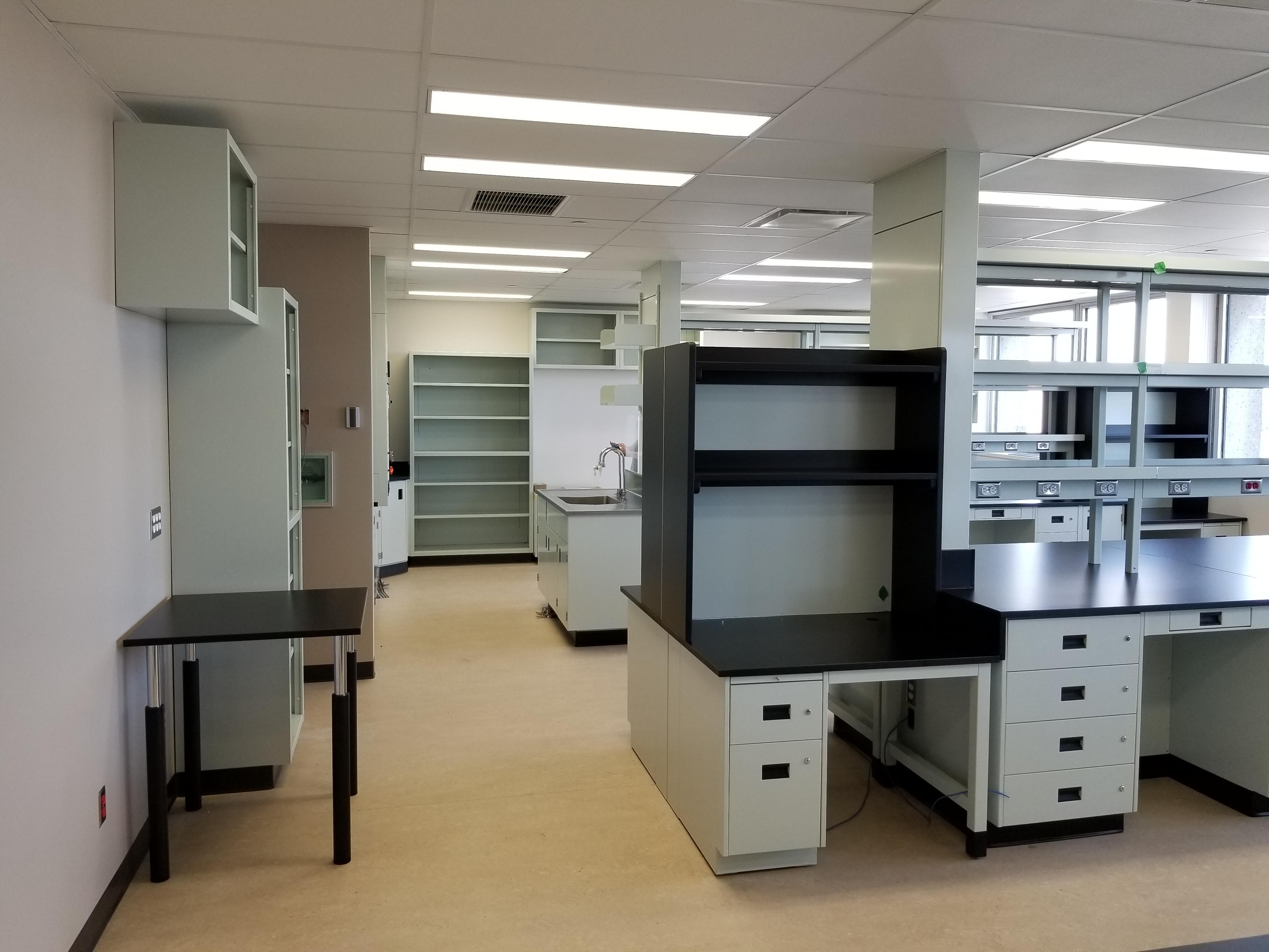 Rénovation des laboratoires vétustes et services connexes (IRCM)